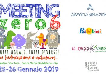 Gennaio 2019 – Meeting Zero6, ecco il programma!
