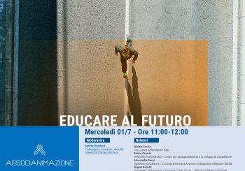 """Registrazione secondo webinar """"Educare al futuro"""""""
