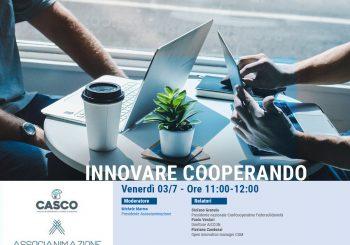 """Registrazione terzo webinar """"Innovare cooperando"""""""
